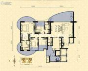 龙湖世纪峰景4室2厅3卫220平方米户型图