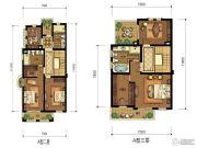 华升南山郡5室4厅4卫335平方米户型图