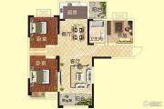 天明城3室2厅1卫115平方米户型图