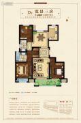 扬州新城吾悦广场3室2厅2卫133平方米户型图