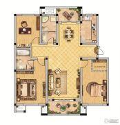 恒景国际花园 多层3室2厅2卫134平方米户型图