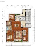 合肥当代MOMΛ3室2厅2卫153平方米户型图