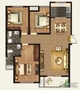 正诚阳光花墅3室2厅2卫124平方米户型图