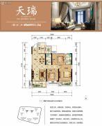 中交・中央公园3室2厅2卫121平方米户型图