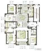 林荫大院4室3厅3卫200--260平方米户型图