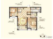 华润中心2室2厅1卫0平方米户型图