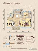 柳州碧桂园4室2厅2卫140平方米户型图