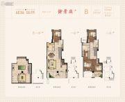 建发泱誉241平方米户型图