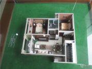 金通・牡丹园 高层2室2厅1卫85平方米户型图