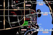 文信朗庭交通图