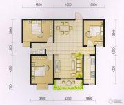 波兰尚龙城3室2厅1卫107--111平方米户型图