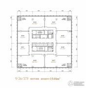 融恒时代广场1544平方米户型图