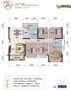 云星・养生城5室2厅2卫141平方米户型图