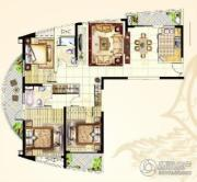 南通中央商务区3室2厅2卫143平方米户型图