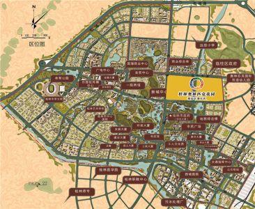 奥林匹克花园 地图