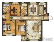 远洋荣域3室2厅2卫142平方米户型图