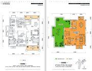 金牛国际社区6室3厅3卫247平方米户型图