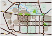 西城旺角交通图