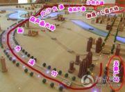 融晟公园大地交通图