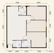 东山康城3室2厅2卫106平方米户型图