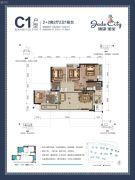 骋望�B玺4室2厅2卫100--103平方米户型图