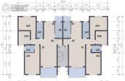 北江豪庭2室2厅1卫0平方米户型图