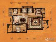 红树湾3室2厅2卫115平方米户型图