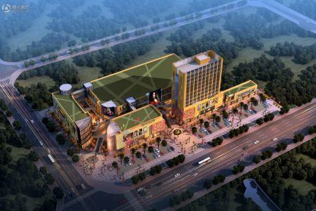 荆沙河北岸片区设计图