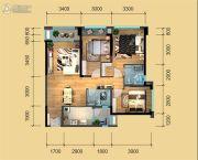 鹭洲国际二期3室2厅2卫90--103平方米户型图