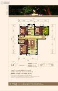 纳里印象3室2厅2卫115平方米户型图