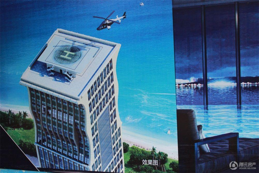 海峡明珠广场项目效果图