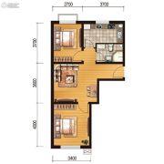 世百居・洪湖湾2室1厅1卫66平方米户型图