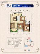 邦泰・国际社区(北区)3室2厅2卫94平方米户型图