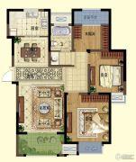 弘阳广场3室2厅1卫113平方米户型图