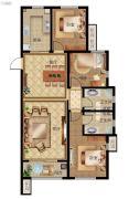秀兰・禧悦都3室2厅2卫127平方米户型图