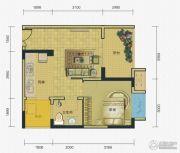 两江春城0室0厅0卫41平方米户型图