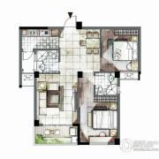 海西・未来区2室2厅1卫93平方米户型图