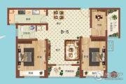 祝福红城3室1厅1卫109平方米户型图