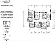 绿海湾花园4室2厅2卫152平方米户型图