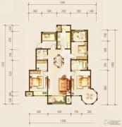 金科廊桥水岸3室2厅2卫155平方米户型图