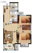华瑞紫韵城2室2厅1卫0平方米户型图
