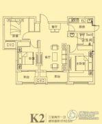东方今典3室2厅1卫103平方米户型图