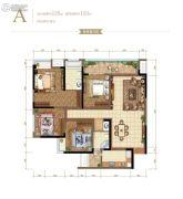 金辉御江府4室2厅2卫0平方米户型图