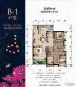 金辉城春上南滨2室2厅2卫89平方米户型图