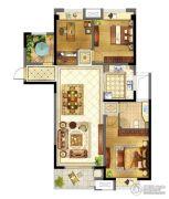 苏宁天御广场3室2厅1卫119平方米户型图
