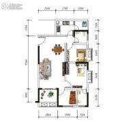 盛美居3室2厅1卫0平方米户型图