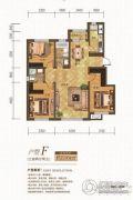 金汇豪庭3室2厅2卫116平方米户型图