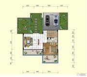 台山颐和温泉城5室3厅3卫268平方米户型图