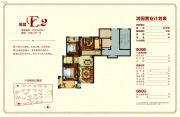 润园小区3室2厅1卫108平方米户型图