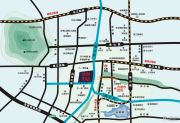 亿诺华贸中心交通图